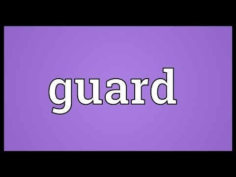guard-meaning