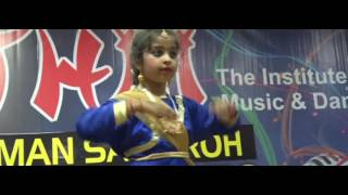 Duet Kathak Performance by Rhythm Students