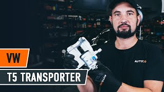 How to replace Gasket set brake caliper VW TRANSPORTER V Box (7HA, 7HH, 7EA, 7EH) Tutorial