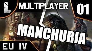 Polska vs Mandżuria  EU4  Multiplayer PvP #01