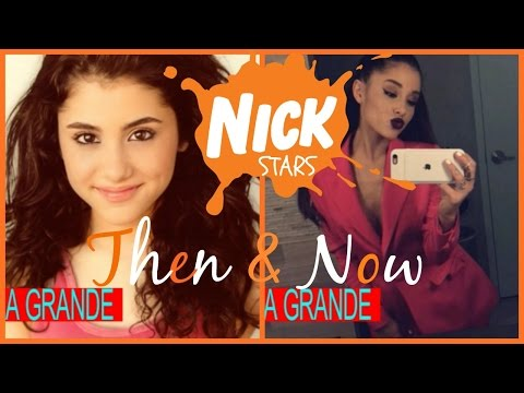 Nickelodeon Stars (Then & Now) 2016
