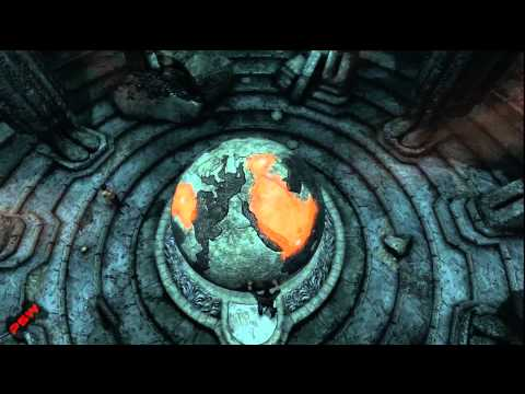 Uncharted 3 Chapter 9 - Globe Puzzle