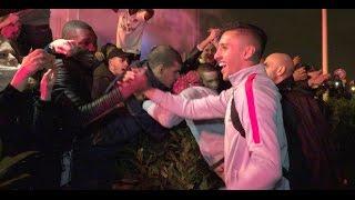 Collectif Ultras Paris - Accueil des joueurs après OM x PSG @ Aéroport Bourget 26.02.2017