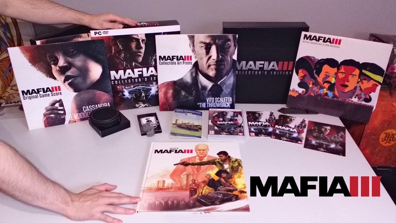 mafia 3 collectors edition ps4
