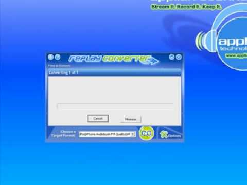 mp3 to iPod m4b: How to convert MP3, WAV or any other audio file to iPod .M4B