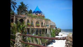 Visit Bahari Beach Hotel, Mombasa, Kenya part 1.