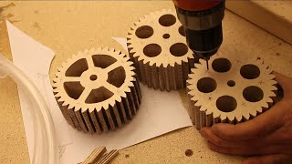 Making Gears for the Lifting Mechanism Prologue#6 Musical Marble Machine
