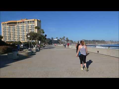Ventura Beach Bike Path Omer Rains Trail Scenes