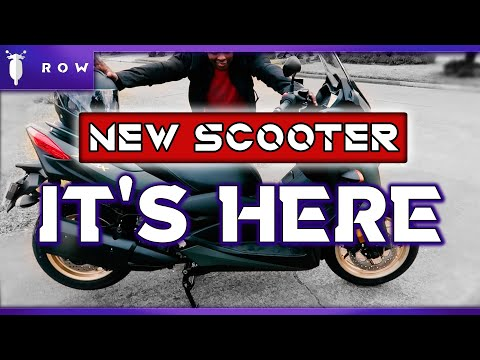 New Scooter Finally Arrived