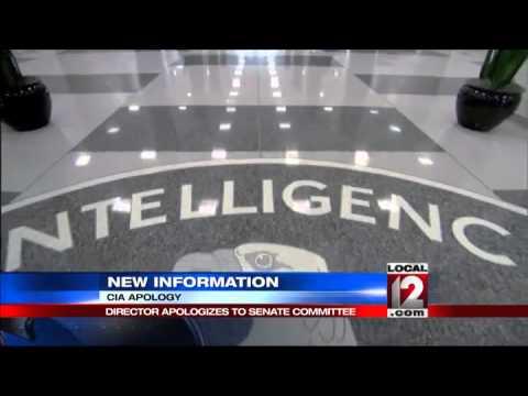 CIA director apologizes to Senate leaders