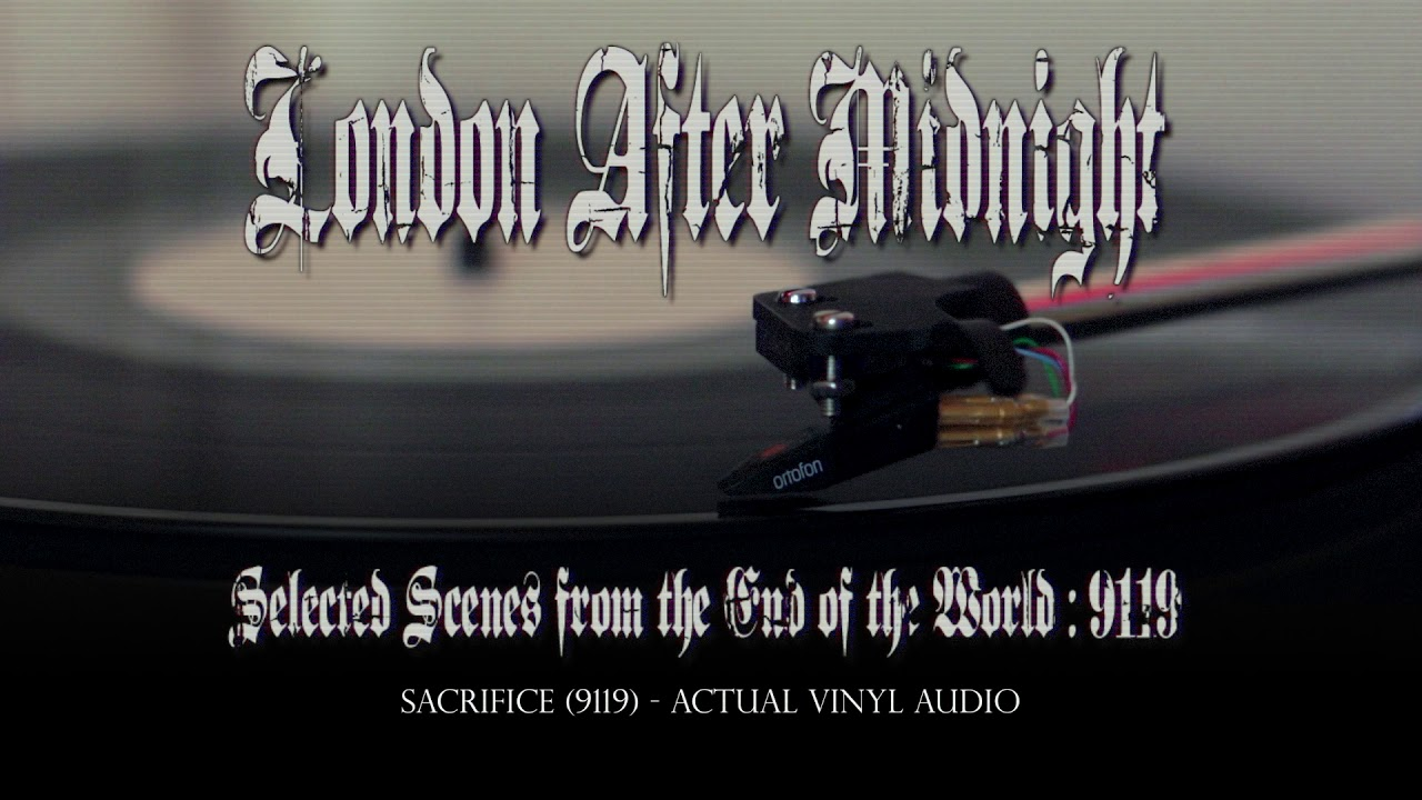 """""""Selected Scenes... 9119"""" vinyl teaser by LONDON AFTER MIDNIGHT"""