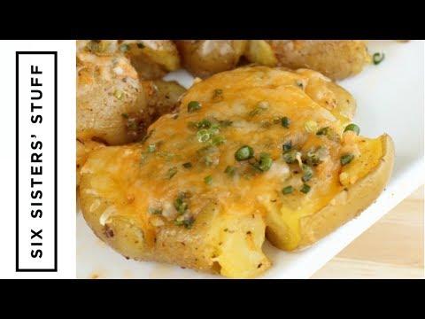 How to Make Smashed Cheesy Potatoes