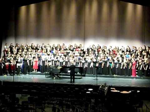 Wana Baraka (arr. Kirchner) - All-State Women's Choir 2011