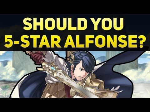 Should you 5-Star Alfonse? - Fire Emblem Heroes Guide