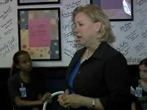 Senator Mary Landrieu Visits Thibodaux Elementary School
