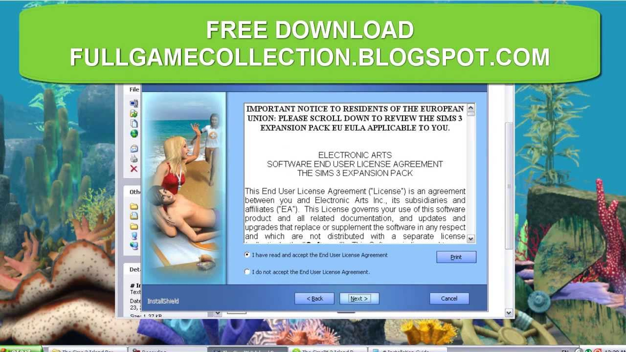 the sims 3 the game free download
