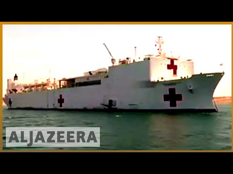 🇨🇴 Hospital ship gives free medical care to Venezuelans in Colombia | Al Jazeera English
