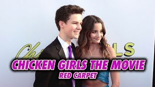 CHICKEN GIRLS: THE MOVIE || RED CARPET