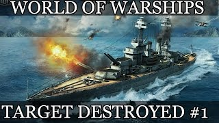 World of Warships Target destroyed #1