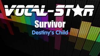 Destinys Child - Survivor (Karaoke Version) with Lyrics HD Vocal-Star Karaoke