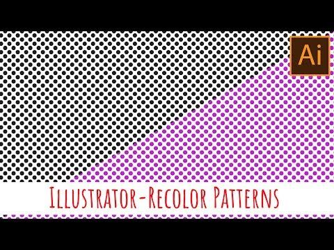 Illustrator - Recolor patterns quickly and easily