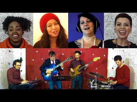 Christmas song: Jingle Bells |Soul Jazz Voice 432 Hz Music| Spanish-English-Chinese-Italian