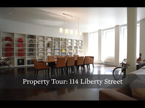 Property Tour: An Inventive Full-Floor Loft at 114 Liberty St