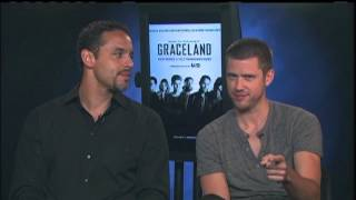 Rachel Chats with the Stars of Graceland