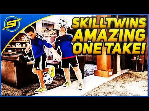 SkillTwins AMAZING One Take ★ EURO 2016