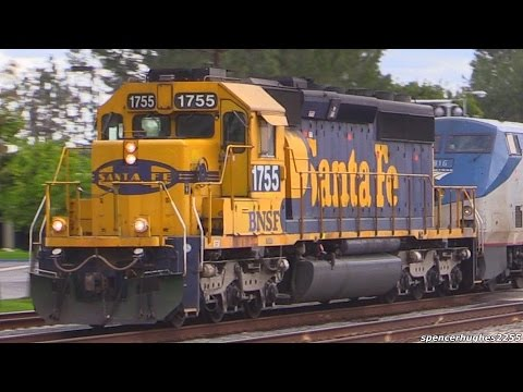 Thumbnail: RARE SD40-2 rescues Amtrak Southwest Chief + OTHERS !!! (March 1st/Feb. 2015)