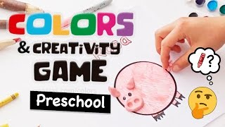 Game Idea for Teaching Colors to Preschoolers in Any Language | Box of Ideas