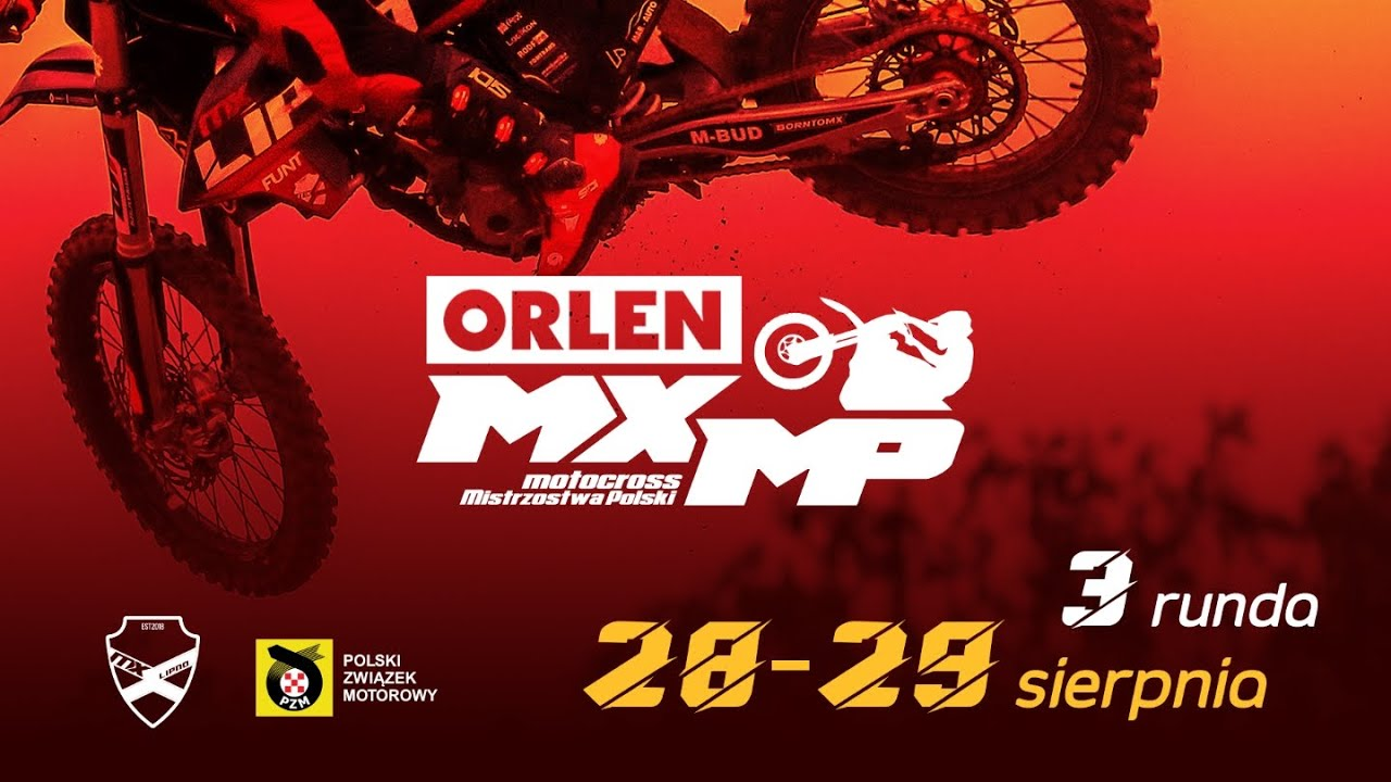ORLEN MXMP Mistrzostwa Polski w Motocrossie- LIPNO 29.08.2021r.