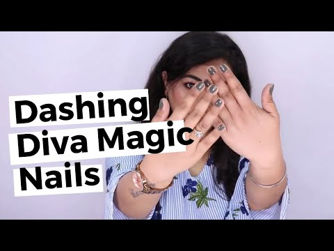 Dashing Diva Magic Press Review, Quick And Easy Instant Nails! | Vippu Ghai