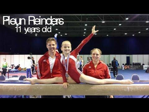 Pleun Reinders - Amazing 11 year old Dutch gymnast! (2017 season)