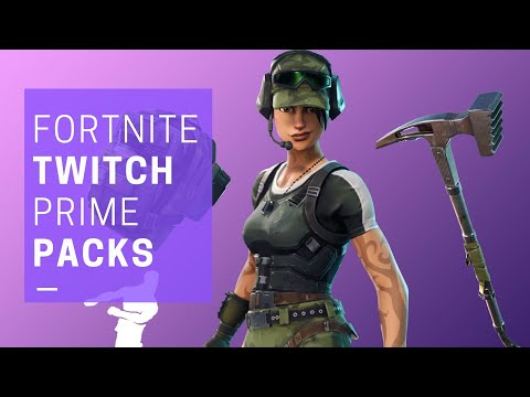 FORTNITE NEEDS New Twitch Prime Packs