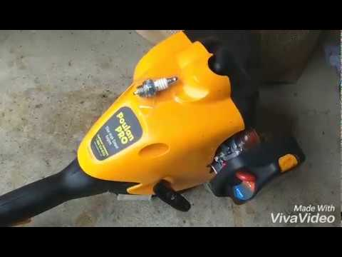 Poulan Pro weed eater how to adjust the carburetor