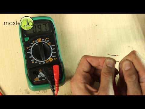 Как измерить напряжение на участке цепи
