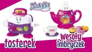 Akcesoria dla dzieci: Imbryczek i Tosterek Natalia Collection