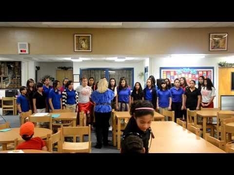 South Middle School (SMS) Varsity Girls Choir