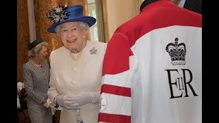 The Queen visits Canada House in London to celebrate #Canada150