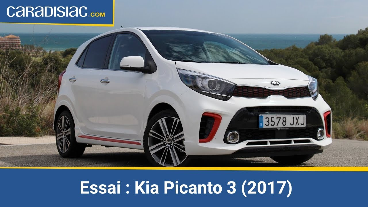 essai vid o kia picanto 3 2017 le sens de l 39 hospitalit youtube. Black Bedroom Furniture Sets. Home Design Ideas
