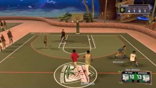 NBA 2K17 MYPARK GAMEPLAY|SLASHER PG STILL GOOD!|BEST MYPLAYER BUILD
