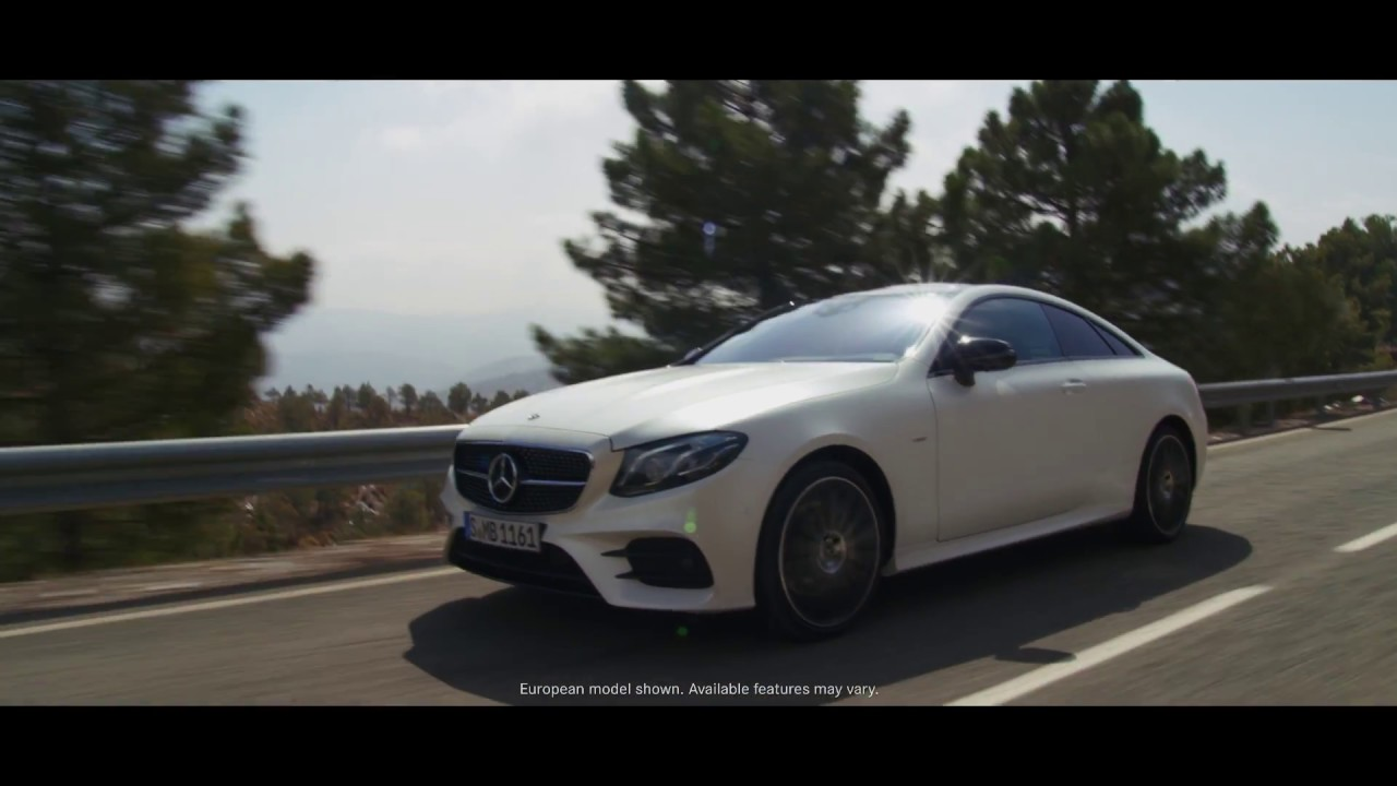 The all new 2018 e class coupe commercial two doors for New mercedes benz commercial
