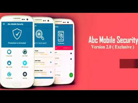 Abc Mobile Security Promo - Create Your Own Android Antivirus Application