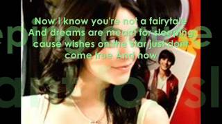 Gabriella Montez (Vanessa Hudgens)_When There Was Me And You_With Lyrics_