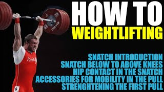 Dmitry Klokov - Olympic Weightlifting for Beginners 1/3
