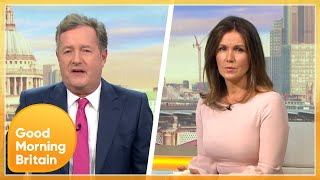 Piers Morgan: 'This Is Our War' In a Heated Coronavirus Cases Discussion | Good Morning Britain
