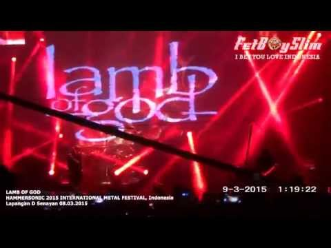 LAMB OF GOD FULL - HAMMERSONIC 2015 Jakarta, Indonesia
