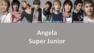 Super Junior Angela Lyrics