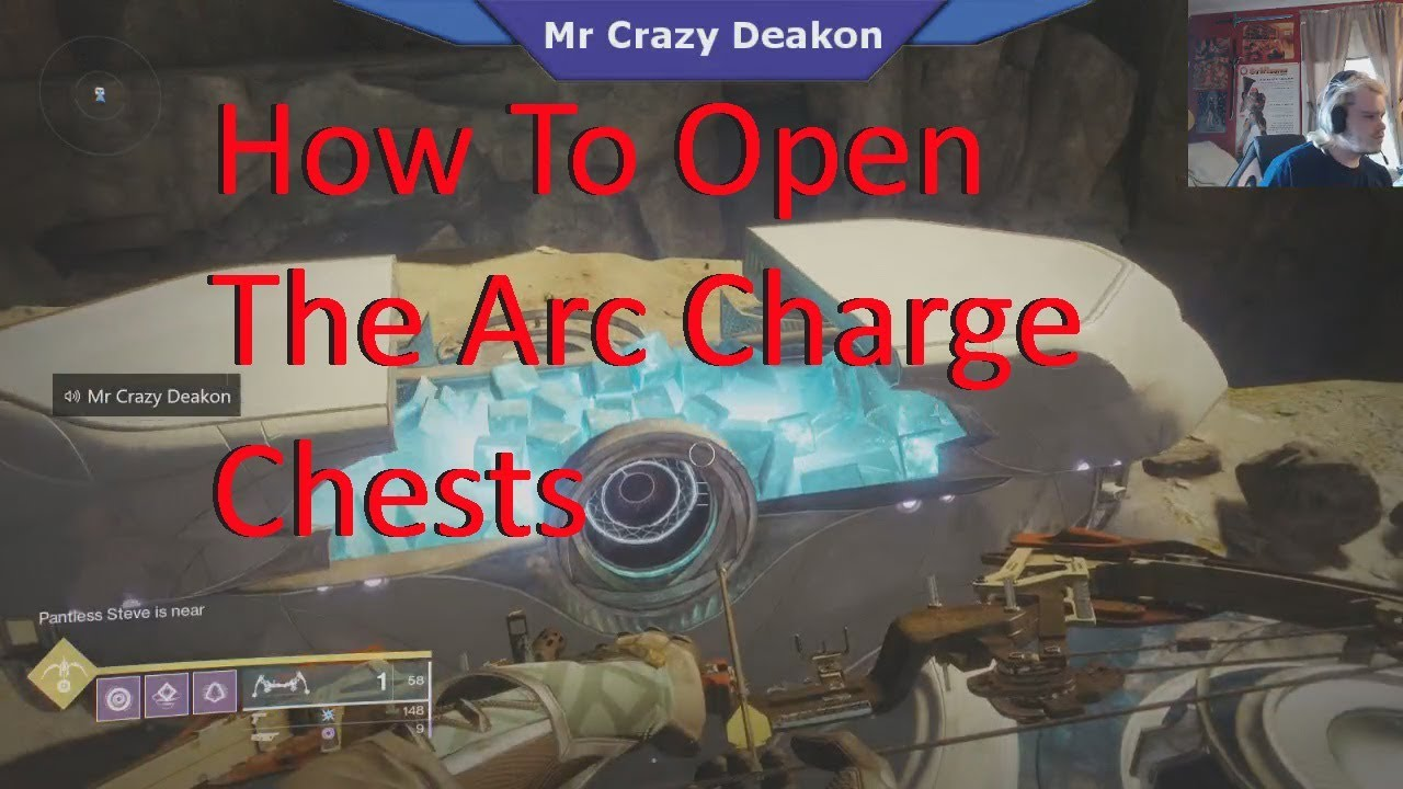 How to open arc 25